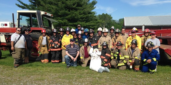 2015 Dutchess County Farmedic participants at Rally Farms