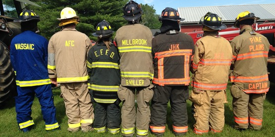 Fire Companies represented at the 2015 Farmedic Training