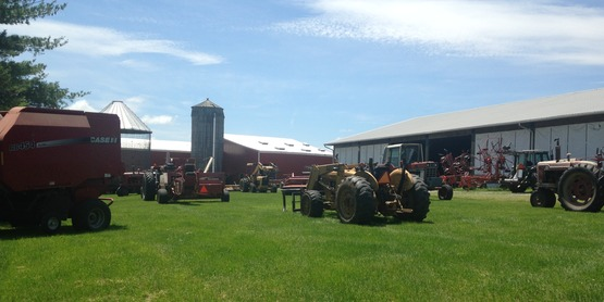 Farm Equipment at Rally Farms