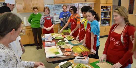 hands on nutrition classes with partners like wegmans - Wegmans Asset Protection