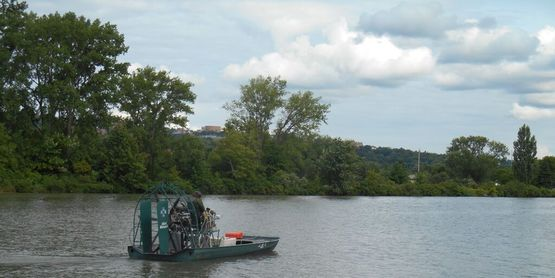 Allied Biological provides herbicide application for the Cayuga Lake Watershed's fight against hydrilla.