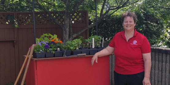 Barb Neal of CCE Tioga kicks off the Making your Garden Grow segment