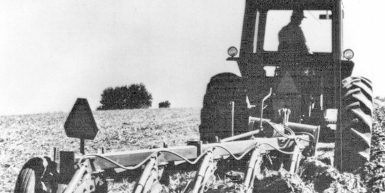 Tractor on Sullivan County farm, year unknown