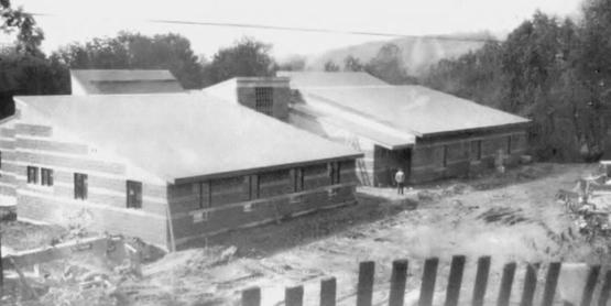 CCE Sullivan Gerald J. Skoda Extension Education Center construction, 1987