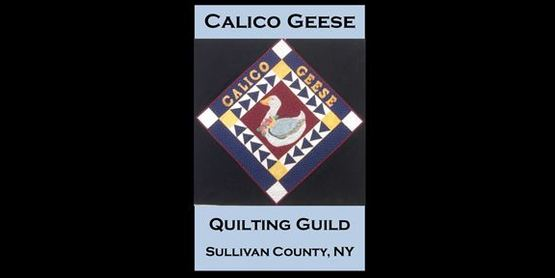 CCE Calico Geese Quilting Guild Community Group logo
