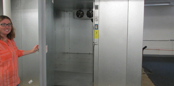 Corning Meat Locker