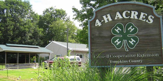 4-H Acres is owned by Cornell Cooperative Extension of Tompkins County.