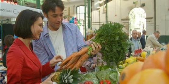 Shopping at your local Farmers' Market is a great way to make healthy decisions.