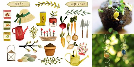 spring garden kit activities