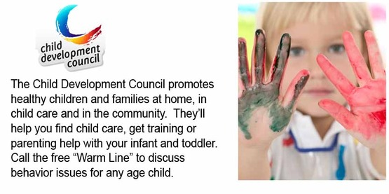 Child Development Council slide for Tompkins' Families