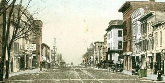 Franklin Street, Watkins Glen, looking South, 1880