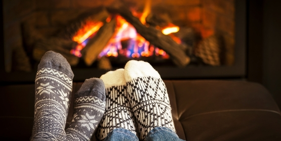 Call a chimney sweep for an inspection if you haven't used your fireplace in a year or more.