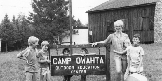 4-H Camp Owahta has a rich as long history starting in in back in 1952.
