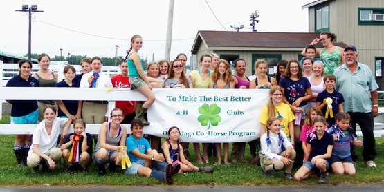 4-H Onondaga County Horse Show Group Photo
