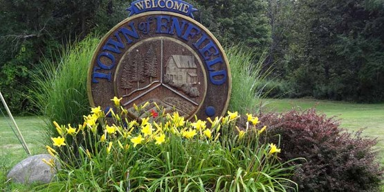 Rural Beautification Grant, Town of Enfield Welcome Sign