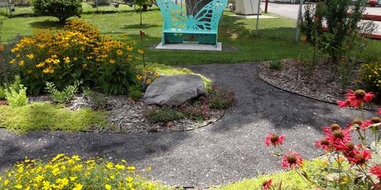 Rural Beautification Grant, Dryden Monarch Garden