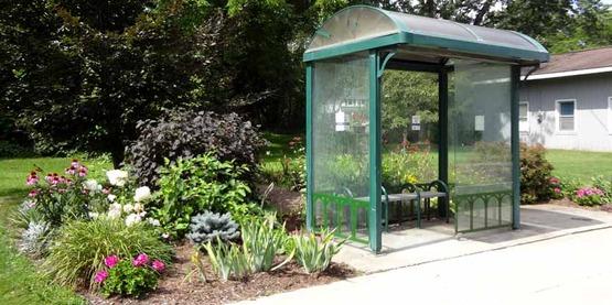 Rural Beautification Grant, Jacksonville Bus Shelter