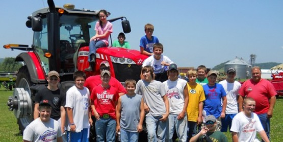 Tractor Safety Students