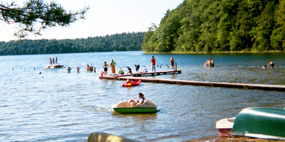 4-H Camp Wabsso waterfront