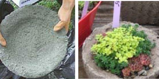 Create Your Own Hypertufa Planter