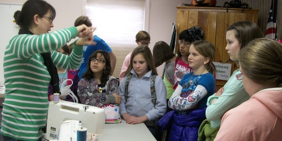 Fiber Arts for Youth