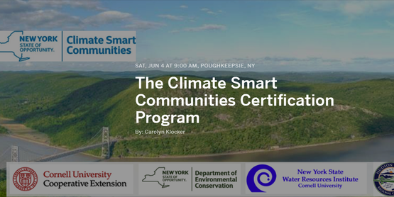 The Climate Smart Communities Certification Program: Supporting Municipal Efforts to Become Climate Resilient