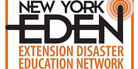 Square logo for Cornell's Emergency Disaster Education Network (EDEN) for use in blocks