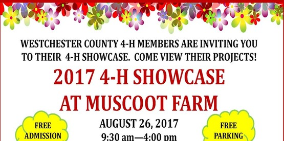Don't miss our 4-H Showcase on August 26th!