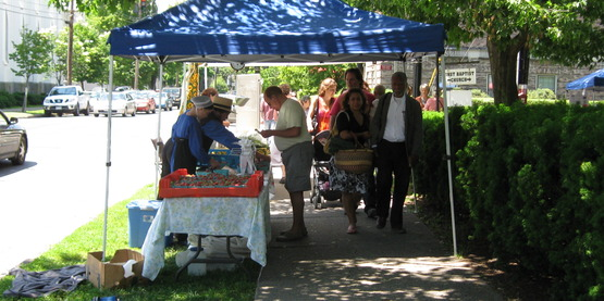 Farmers' markets are one avenue for selling your products.