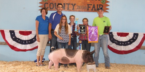 2016 4-H Meat Animal Sale a Success
