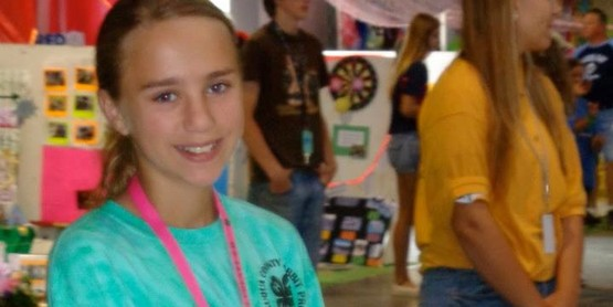 4-H SuperYouth for July 2016 - Emily Brown