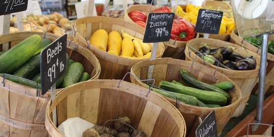 High-quality, homegrown produce available for purchase at Peterson Farm in Jamestown, NY.