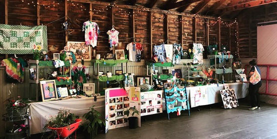 4-H Static Exhibits in Floral Hall.