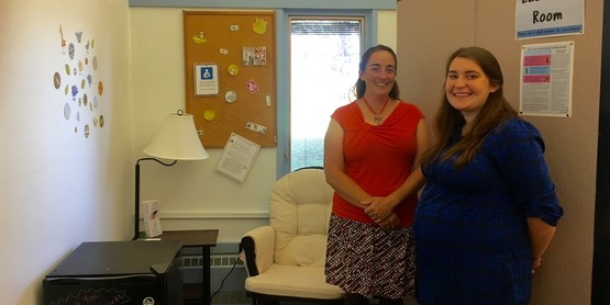 CCE Chautauqua has opened their new Lactation Room to staff and visitors