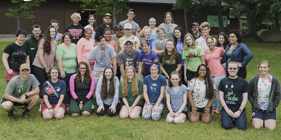 Your 2017 Staff for 4-H Camp Bristol Hills
