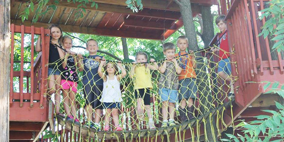 Cloverbud 2A Trip participants made a stop at Tree Creations in Geneseo.