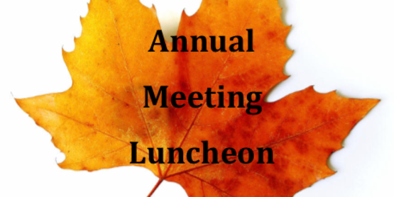 Cornell Cooperative Extension Albany County's Annual Meeting Luncheon