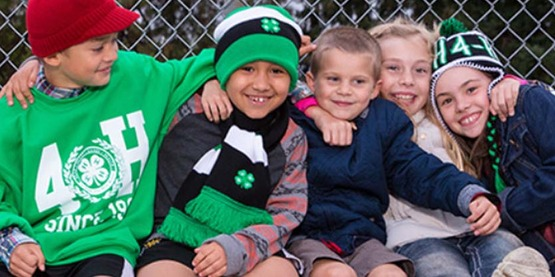 There are lots of ways to get involved in 4-H!