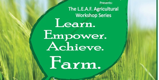"CCE will be offering 2 workshops ""Backyard Beef"" and ""Composting"" the week of Oct 31, 2016"