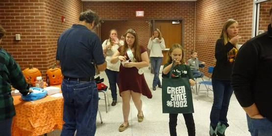 Social Time at the 4-H Achievement Night