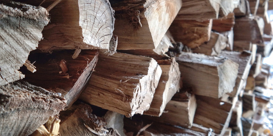 "Learn about buying, storing and safely burning firewood in our ""Heating with Wood"" section!"