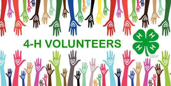 Make a difference as a 4-H Volunteer!