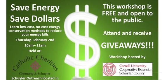 Save Energy Save Dollars