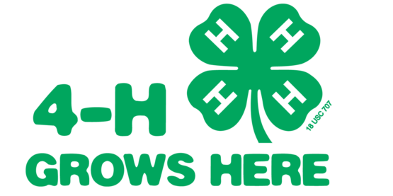 Find out what 4-H can offer you!  Call today!