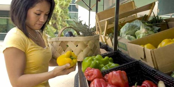 ESNY helps families put more vegetables and fruits in their diets.