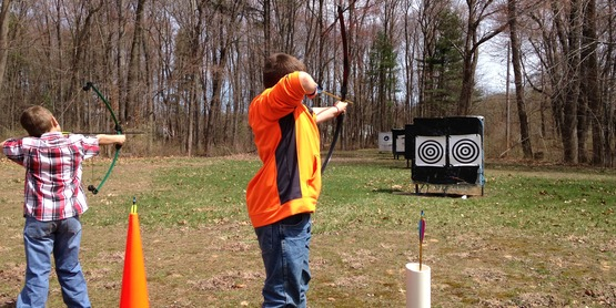 4HSS Archery Training 2015