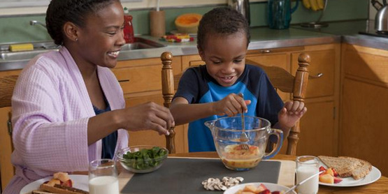 Cooking with Children; for Learning, Nutrition & Fitness