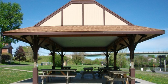 Pavilion at Clyde's Lauraville Trail