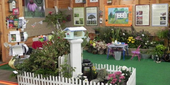 Master Gardener Exhibit at the 2017 Columbia County Fair