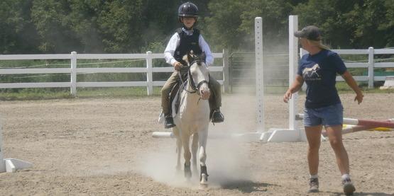 A 4-H Horse Show